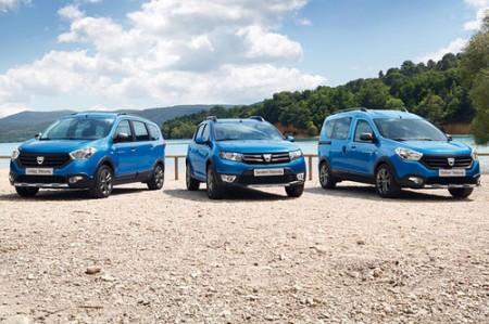 Dacia Crossover-Modelle Dokker Stepway und Lodgy Stepway