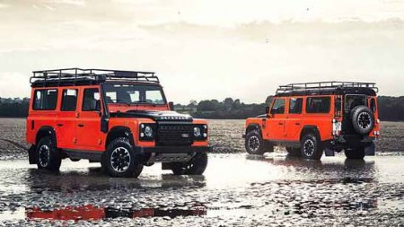 Land Rover Defender Adventure Sondermodell