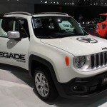 Vienna Autoshow 2015 Jeep Renegade