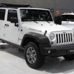Vienna Autoshow 2015 Jeep Wrangler