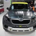 Vienna Autoshow 2015 Skoda Yeti Xtreme