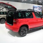Vienna Autoshow 2015 Skoda Yeti