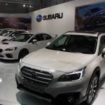 Vienna Autoshow 2015 Subaru Outback