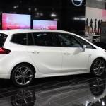Vienna Autoshow 2015 Opel Zafira