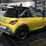 Vienna Autoshow 2015 Opel Adam Rocks