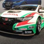 Vienna Autoshow 2015 Honda Civic Rennauto