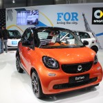 Vienna Autoshow 2015 smart fortwo