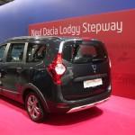 Vienna Autoshow 2015 Dacia Lodgy Stepway