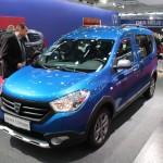 Vienna Autoshow 2015 Dacia Dokker Stepway