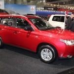 Vienna Autoshow 2015 Mitsubishi Outlander