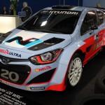 Vienna Autoshow 2015 Hyundai i20 WRC Thierry Neuville