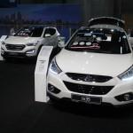 Vienna Autoshow 2015 Hyundai Santa Fe ix35
