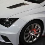 Vienna Autoshow 2015 Seat Leon Rennauto