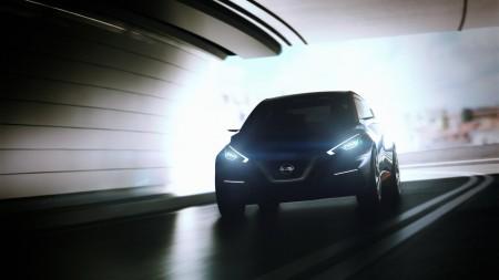 Nissan Studie Sway Kleinwagen