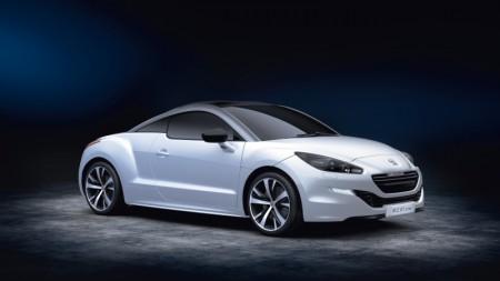Peugeot RCZ GT-Line Seitenansicht