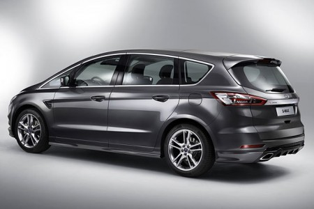 Ford S-Max Heck