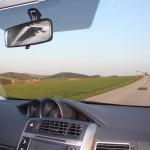 Toyota Verso Innenraum Fahrt