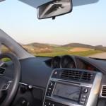 Toyota Verso Innenraum Testfahrt