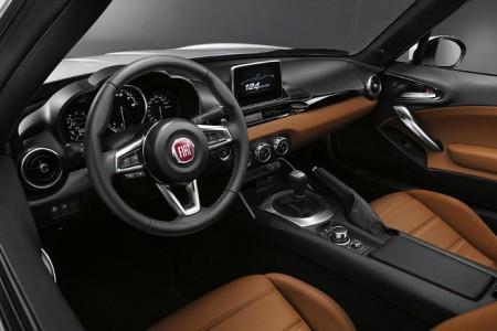 Fiat 124 Spider Innenraum