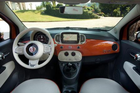 Fiat 500 Innenraum Geburtstag