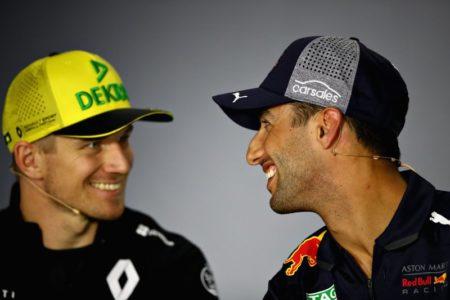 Renault Daniel Ricciardo Nico Hülkenberg