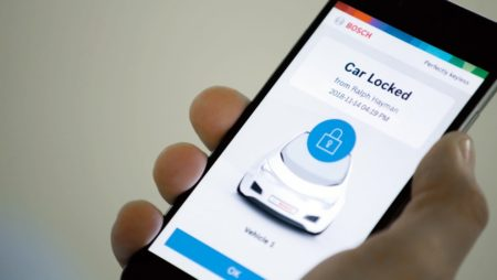 Bosch Smartphone Fingerabdruck keyless entry